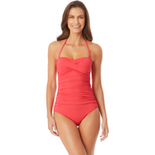 Anne Cole Bandeau One Piece Swimsuit