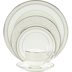 Noritake Montvale Platinum 5 pc. Place Setting