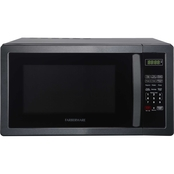 Farberware Classic 1.1 cu. ft. 1000W Microwave Oven in Black Stainless Steel