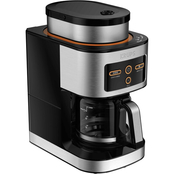 Krups KM550D50 Personal Cafe Grind and Brew 4 Cup Coffee Maker