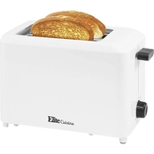 Elite Cuisine ECT 1027 Cool Touch 2 Slice Toaster