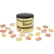 Fruity Sin Prosecco Bears Gummies 12 Jars, 4 oz. each