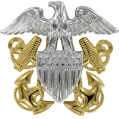 Navy Cap Device Officer Regulation Unmounted