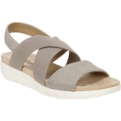 LifeStride Plush Slingback Sandals