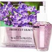 Bath & Body Works Wallflower Refill, Fresh Cut Lilacs 2 pk.