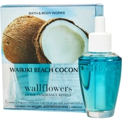 Bath & Body Works Wallflower Refill, Waikiki Beach Coconut 2 pk.