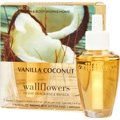 Bath & Body Works Wallflower Refill, Vanilla Coconut 2 pk.