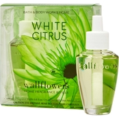 Bath & Body Works Wallflower Refill, White Citrus 2 pk.