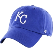 47 Brand MLB Kansas City Royals Clean Up Baseball Cap