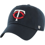 47 Brand MLB Minnesota Twins Clean Up Baseball Cap