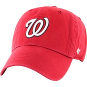 47 Brand MLB Washington Nationals Clean Up Baseball Cap