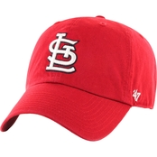 47 Brand MLB St. Louis Cardinals Clean Up Baseball Cap