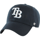 47 Brand MLB Tampa Bay Rays Clean Up Baseball Cap