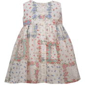Bonnie Jean Infant Girls Patchwork Dress