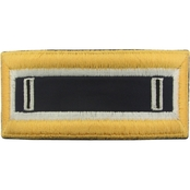 Army CW5 Judge Advocate General Male Shoulder Straps