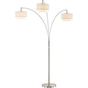 Artiva USA LumiereIII 80 in. LED Arched Floor Lamp