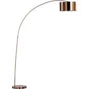 Artiva USA Adelina 81 in. LED Arched Floor Lamp