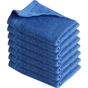 Izod Everyday Light Blue 6 pk. Wash Cloths