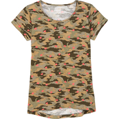 Wallflower Girls Camo Knit Top