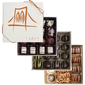 Fames Copper Artisan Grafted Chocolate Gift Boxes 3 units, 0.50 lb. each