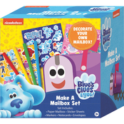 Nickelodeon Blues Clues Make A Mailbox 49 pc. Set