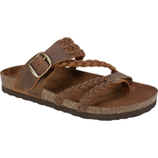 White Mountain Women's Hayleigh Footbed Sandals