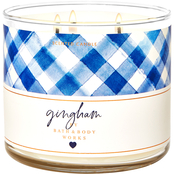 Bath & Body Works Gingham 3-Wick Candle
