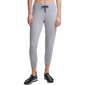 DKNY Sport Ombre Logo Cropped Joggers