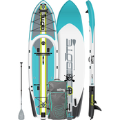 Bote RACKHAM 12 ft. 4 in.  Inflatable Stand Up Paddle Board Package
