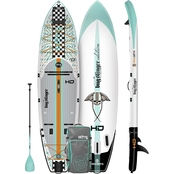 Bote HD Aero 11 ft. 6 in. Full Trax Inflatable Stand Up Paddle Board Package