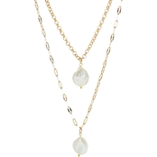 Panacea Pearl Coin Necklace