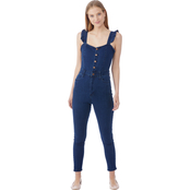 Almost Famous Juniors Skinny Overalls