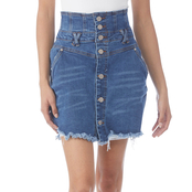 Almost Famous Juniors Corset Skirt