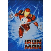 Marvel Iron Man Area Rug 54 x 78