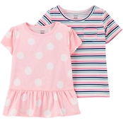 Carter's Infant Girls Jersey Tee 2 pk.