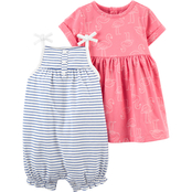 Carter's 2 pk. Romper and Dress Set