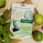 Wild Willett Foods Turkey Jerky Basil Lime and Garlic Ginger 12 pk.
