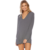 Splendid Soft and Sweet Hoodie Cover Up Tunic