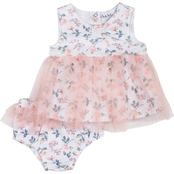 Nicole Miller Infant Girls 2 pc. Diaper Cover Set