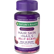Nature's Bounty Optimal Solutions Advanced Hair, Skin and Nails Jelly Beans 80 ct.