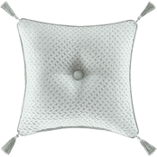 J. Queen New York Riverside Spa 18 in. Square Decorative Throw Pillow