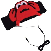 Con-Tact Kids H1 Fleece Headphones, Crab
