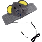 Contixo Kids H1 Fleece Headphones, Elephant