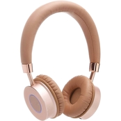 Contixo Kids KB 200 Premium Bluetooth Wireless Headphones with Microphone, Gold