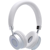 Contixo Kids KB 200 Premium Bluetooth Wireless Headphones with Microphone, White