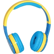 Contixo Kids KB 2600 Wireless Bluetooth Headphones, Blue