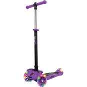 Hurtle Purple Scootkid Mini Kids Toy Scooter