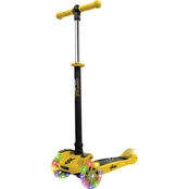 Hurtle Yellow Scootkid Mini Toy Scooter