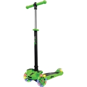 Hurtle Kids ScootKid Mini Toy Scooter, Green