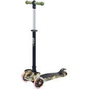 Hurtle Camo Scootkid Mini Kids Toy Scooter